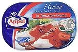 Appel Heringsfilets, zarte Fisch-Filets in Tomaten-Creme, MSC zertifiziert, 200g Dose