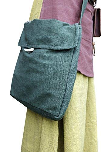 Mittelalter Tasche Ehwaz - Grün von Burgschneider