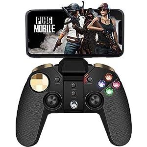 Mobile Gamecontroller, PowerLead Joystick Multimedia-Gamecontroller Drahtloses Wireless Gamepad Kompatibel mit iOS Android-Handy-Tablet-PC