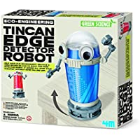 Best price for Construct Your Own Tin Can Edge Detector Robot - Simple To Create Set - Number One Educational - Educational Science Present Gift Ideal For Christmas Xmas Stocking Fillers Age 8+ Girls Boys Kids Children from radiocontrollers.eu