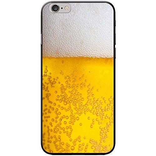 Nahaufnahme schaumiges Bier weiße Krone Hartschalenhülle Telefonhülle zum Aufstecken für Apple iPhone 6 / 6s
