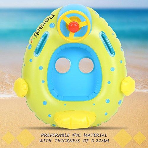 Peradix Aufblasbares Kinderboot Beach Sommer Hingucker für Wasserspaß - 5