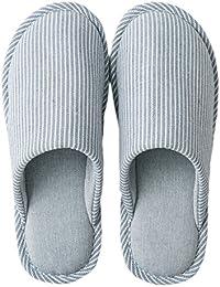 Pantofole da Uomo morbide Punta Chiusa Cotone Memory Foam Scivolare su Scarpe  da casa per Uso 18001d37007