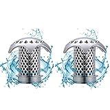 2 Stücke Abflusssieb Badewanne Abfluss Dusche Haarfänger Abfluss Haarsieb Match Abfluss Größe von 1.46'' bis 1.79''