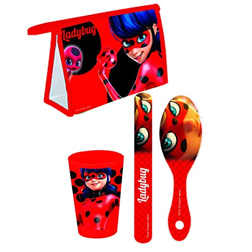 Lady Bug Miraculous MR25-TR1 Set de Voyage