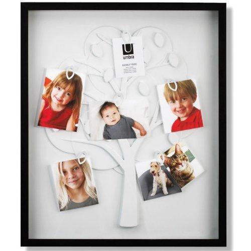 Pèle mêle photo White Family Tree Couleur Noir/blanc
