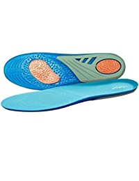 Plantillas GEL Sports Orthotic, Lifebee insertos de suelas de gel de longitud completa para la absorción de impactos, protección del talón y soporte para el pie, aliviar el dolor en el pie y la