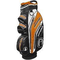 iCart Masters Golf AquaPel 3 Xtreme - Bolsa para Carrito, Color Negro y Naranja