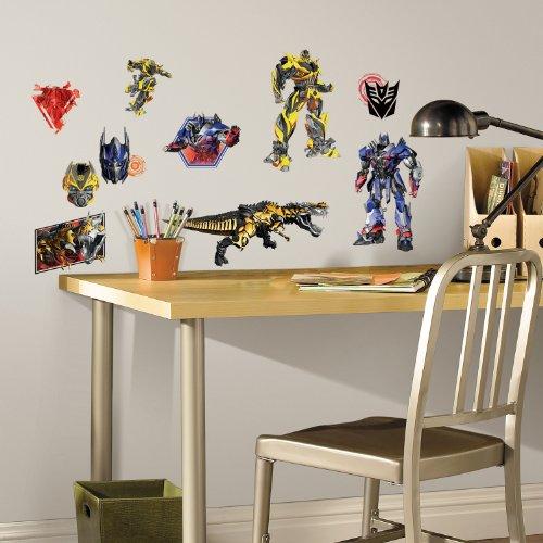 Transformers 4 Ära des Untergangs Wiederverwendbare Wandsticker