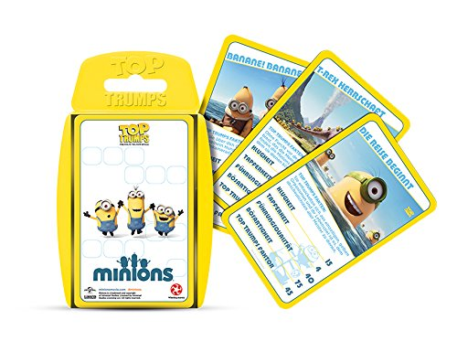 Winning Moves 62103 - Top Trumps: Minions - Kartenspiel, Quartett