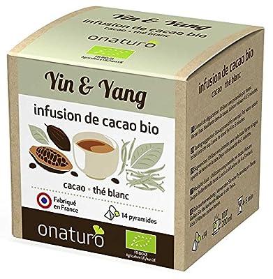 Infusion 100% cacao & Thé blanc Yin & Yang BIO