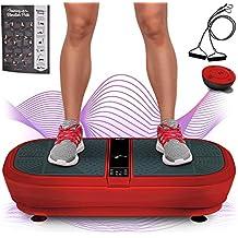 Sportstech Pedana Vibrante Professionale VP300 con Tecnologia di Vibrazione 3D Wipp, 2x1000W Max Motori Potenza + Bluetooth Musica, Area Enorme Design Unico, Elastici Fitness + Telecomando + Poster
