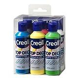 Creall Havo 92040, 480 ml Top Deco Acrylfarben-Set, 6-teilig.