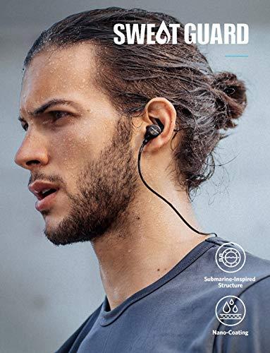 Anker Soundcore Auricolari Sportivi Spirit Cuffie con Bluetooth ... 6c1db8bf2d4c