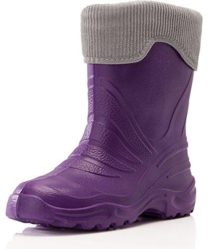 Lemigo EVA Thermo Bottes de Pluie Enfant 861 2016 Violet/Gris