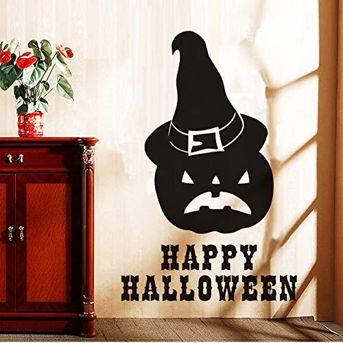 Halloween Kürbis Hut Wandaufkleber Kinder Kleber Kunstwandbild Poster Removable Vinyl Tapete