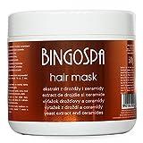 Anti-Schuppen Haarmaske gegen Schuppenbildung Shuppen Killer mit Hefeextrackt und Ceramiden - 500 g
