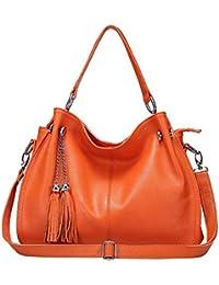 02c6b3524037c2 DaDongLL frauen kuh spaltleder handtasche mit großer kapazität vintage  design - täschchen top mit…