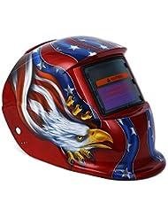YALTOL Energía Solar Oscurecimiento automático Casco de Soldadura eléctrica Cráneo Máscara Ojos Casco Protector Máscaras Soldador