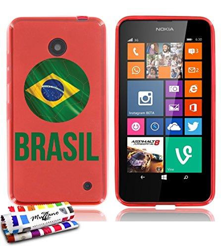custodia-flessibile-finissima-rossa-originale-di-muzzano-dal-modello-pallone-da-calcio-brasil-per-no
