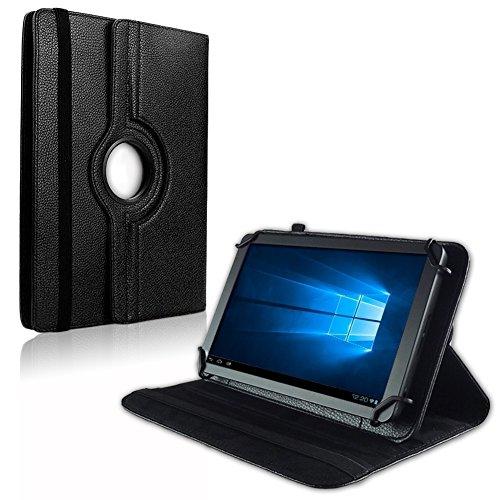 NAUC Tablet Schutz Hülle Haier Pad 971 Tasche Schutzhülle Universal Case Cover, Farben:Schwarz