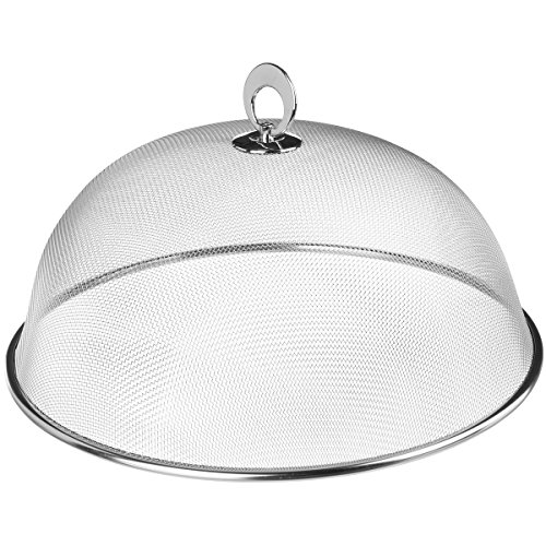 Promobo - Cloche Couvercle Inox Spécial Restaurant Idéal Gâteau Fromage
