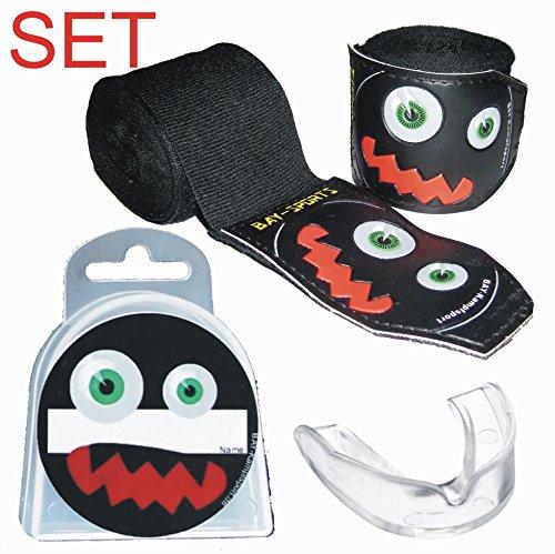 SPARSET BAY® monster face 3D - BOXBANDAGEN + ZAHNSCHUTZ + DOSE -