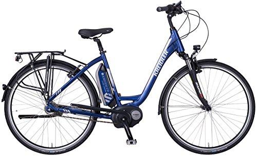 Kreidler Vitality Eco 2 7-G Nexus RT Elektro Fahrrad/City eBike 2017 (Blau, 28