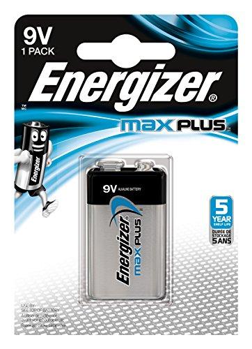 Energizer E301323300  Max Plus  E-Block (9V) 1 Stück Chrom Energizer Max 9v Batterien