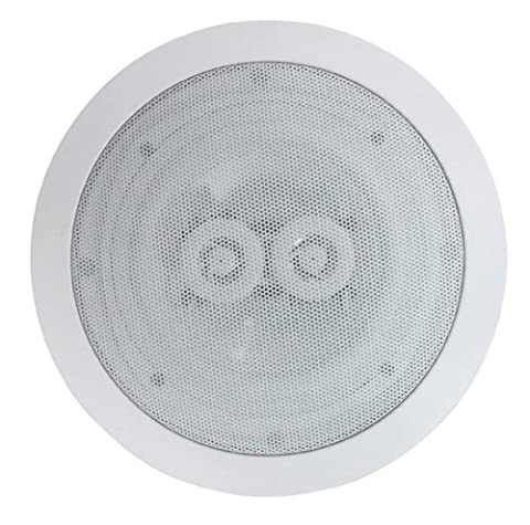 E-Audio Sinlge Stereo Ceiling Speaker With Dual