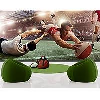 Carta da parati adesiva Rugby-Action, Dimensione:270cm x 72cm