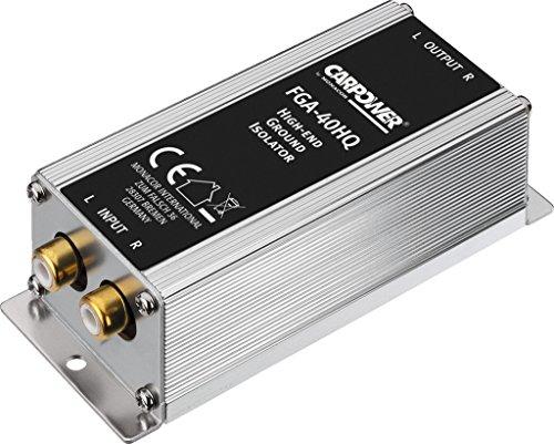 High-End Massetrennfilter Mantelstromfilter Stereo-Line-Übertrager Monacor FGA-40HQ