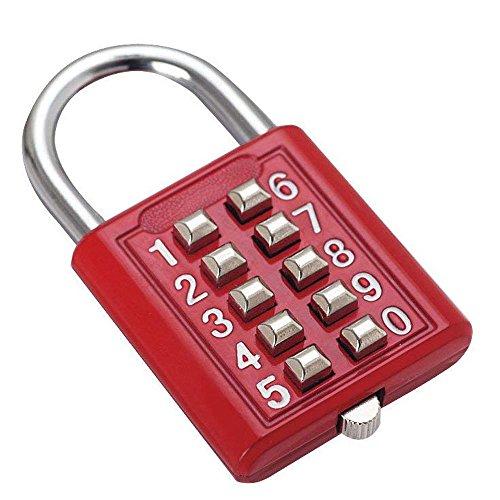 1 candado de Seguridad con combinación de Botones