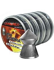Umarex Cobra Latas con puntas para armas de aire comprimido, 4,5mm, 5 unidades