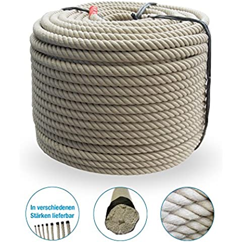 Grevinga®–Corda polipropilene–Corda fibra Spinning plastica effetto corda di canapa Corda Ø 34mm
