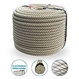 Cuerda de fibra corta de polipropileno Grevinga, una cuerda óptica de cáñamo de 20 mm de diámetro, 50 m