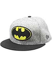 376a6e2f7fb33 New Era Hommes 59FIFTY Fitted Batman Marvel Casquette Gris