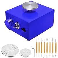 TTLIFE Mini roue de poterie, machine de poterie électrique 2000 tr/min machine de fabrication de céramique, charge 0,5…