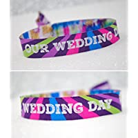 Our Wedding Day Festival Wedding Wristband Wedding favours