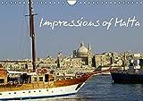 Impressions of Malta (Wall Calendar 2019 DIN A4 Landscape): Beautiful archipelago of Malta, Gozo & Comino (Monthly calendar, 14 pages ) (Calvendo Places)