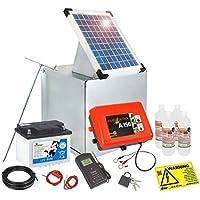 Solarmodul 5 Watt Solar Erweiterungs Set für 9V Eider Weidezaungeräte Batterie