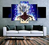 GTRB 5 Gemälde auf Leinwand, modulare Kunstleinwand, 5-teilig, Bedruckt, Animation, Drache, Fotos, Dekoration, Kunstdrucke auf Leinwand