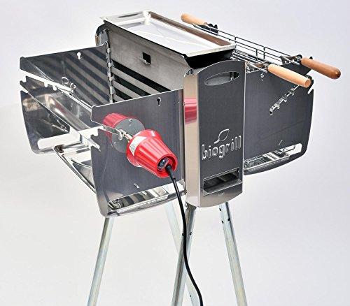 biogrill barbecue vertical tout electromenager. Black Bedroom Furniture Sets. Home Design Ideas