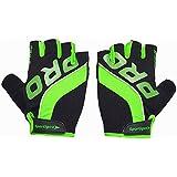 Sportigoo PRO Cycling Glove - Black/Green