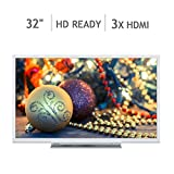 Toshiba 32 Inch HD Ready Smart TV - White -32W3754DB