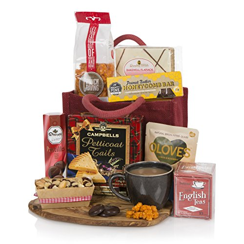 The Little Red Gift Hamper - Birthday Hamper - Hampers and Gift Baskets For Her - Food Gift For Any Occasion