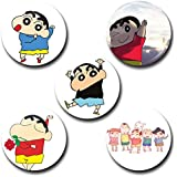 Capturing Happiness Sinchan Button Badge Pack Of 5