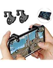 mStick pubg Gaming Joystick for Smart Phones/Trigger for Mobile Controller/Fire Button Assist Tool (Black)
