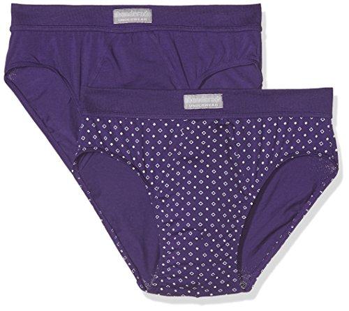 abanderado Herren Boxer Asa5399, 2er Pack Violett