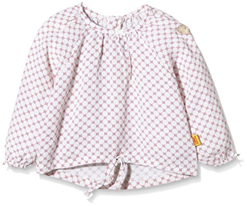 Steiff Collection Mädchen, Bluse, Bluse 1/1 Arm, Mehrfarbig (allover 0003), 86